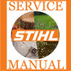 STIHL MS360 SERVICE MANUAL + ILLUSTRATED PARTS MANUALIST IPL