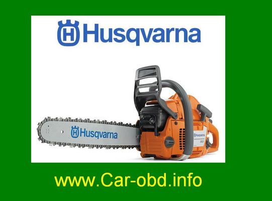 Product picture Husqvarna Chainsaw 340 345 346XP 350 351 353 service manual