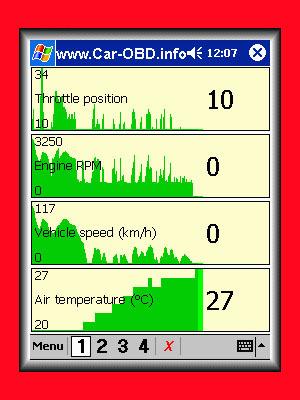 Product picture OBD2 OBDII Car Automotive Diagnostic Software Palm Pocket PC